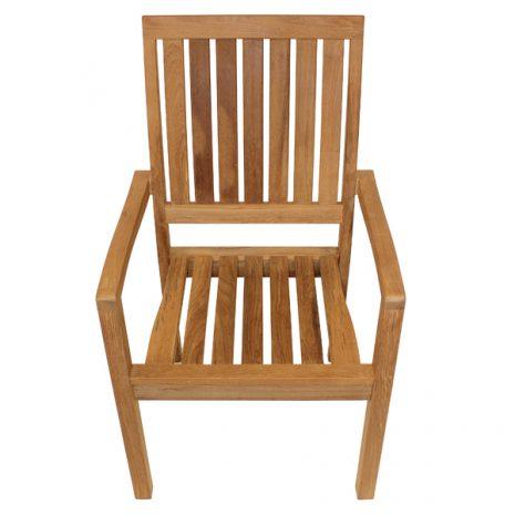 Hogarth Teak Stacking Armchair
