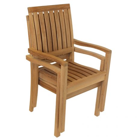 Hogarth Teak Stacking Armchair