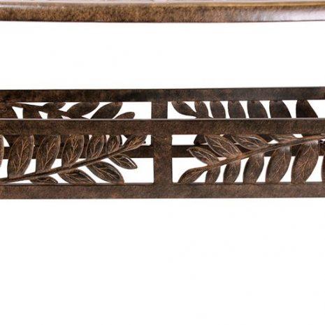 Cinnamon Leaf 1.7m Oval Dining Table
