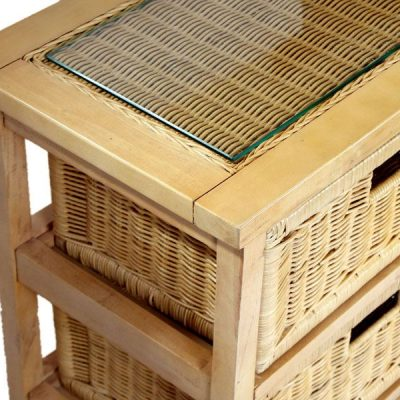 Lewes Natural Rattan Conservatory Storage Unit