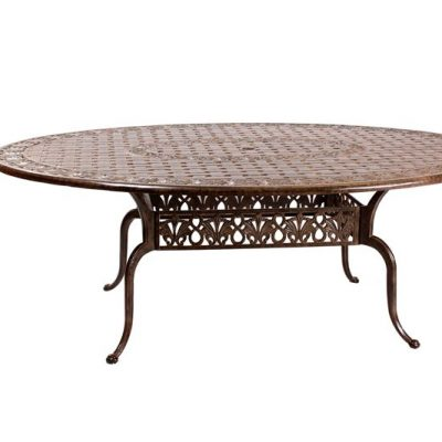 Monte Carlo 200cm Oval Table