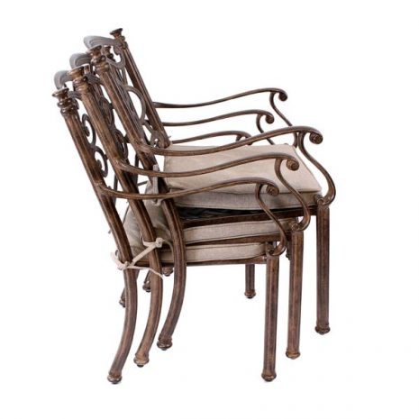 Monte Carlo dining chair and cushion