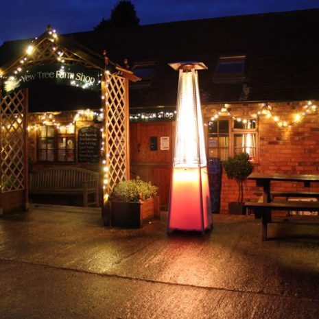 Tambora LED Patio Gas Heater