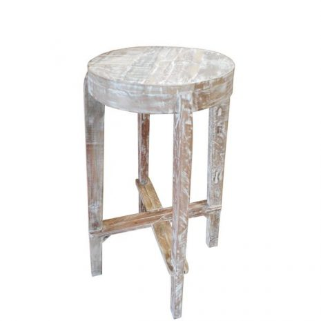 Tuk Tuk High Bar Stool made from upcycled timber