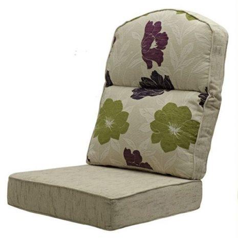 Santa Fe Aubergine Cushion Material