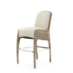 Sandbanks AquaMax Outdoor Garden Rattan Bar Stool. High bar stools