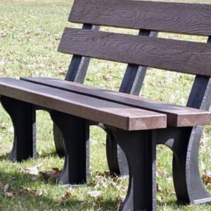 Orwell 150cm 3 Seater Recycled Outdoor Plastic Bench. Orwell 180cm 4 Seater Recycled Outdoor Plastic Bench