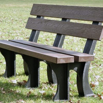 Orwell 180cm 4 Seater Recycled Outdoor Plastic Bench