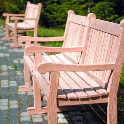 Chaucer 2.4m FSC oak bench