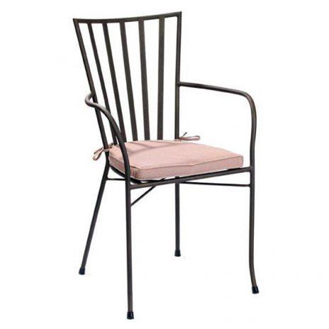 Grace Stackable Aluminium Garden Armchair