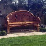 Kipling Reclaimed Teak Root Garden Bench