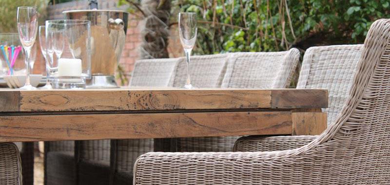 Lowry Reclaimed Teak Dining Table