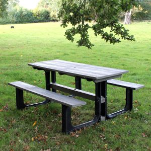 Orwell 180cm 6 Seater Recycled Outdoor Plastic Picnic Table