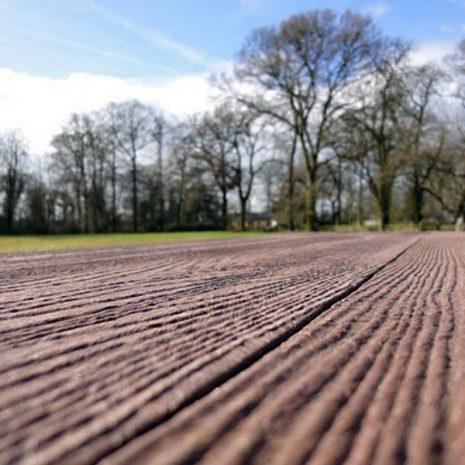Orwell 2.4m Eco Picnic Table Wood Grain