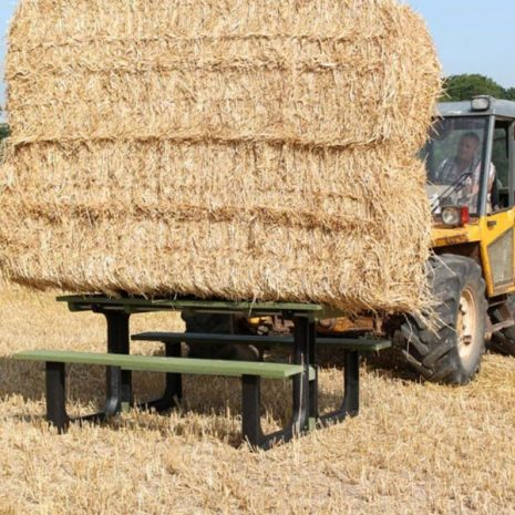Our Orwell Eco Picnic Tables are super strong and durable
