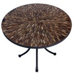 Pebbledash 70cm Round Bistro Table 2