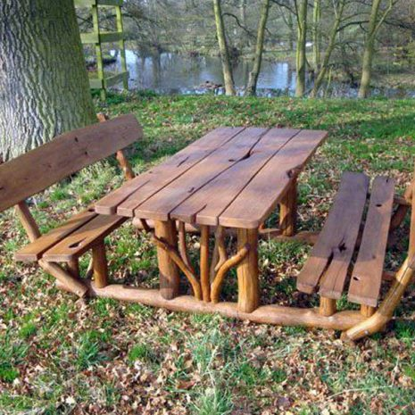 Hardy Oak Picnic Table