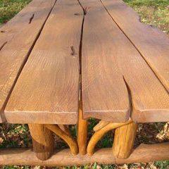 Hardy Oak Picnic Table