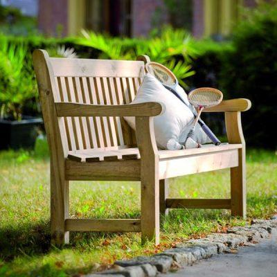 Sassoon 180cm 4 Seater Pine Garden Bench. Bench wooden