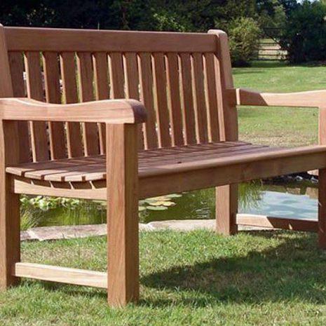 Shelley 150cm 3 Seater Teak Garden Bench