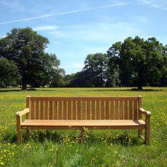 Shelley Extra Large Sustainable Teak Garden Bench 240cm