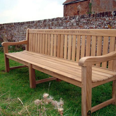 Shelley FSC 2.4m Memorial Bench
