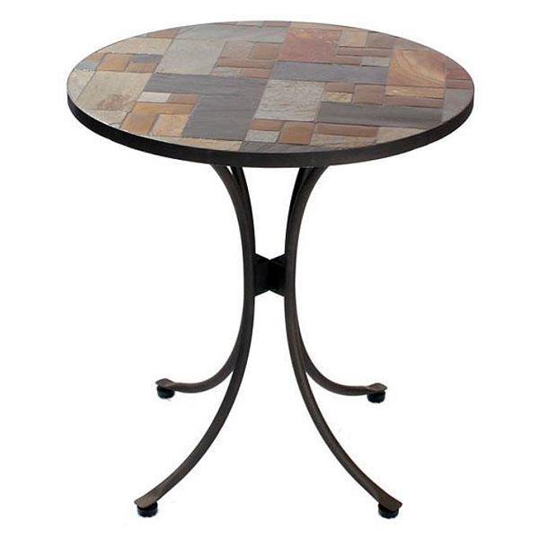 90cm Round Patio Bistro Table, Round Garden Tables Uk