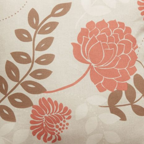 Tavistock Terracotta Cushion Fabric