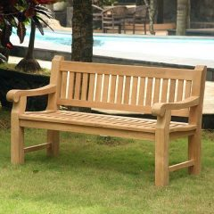 Shakespeare 150cm Teak Memorial Bench