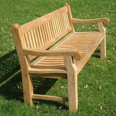 Shakespeare 180cm Teak Memorial Bench