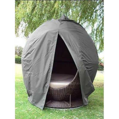 Apple Day Bed Weather Cover Grey