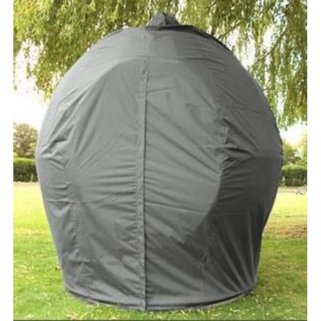 Apple Day Bed Weather Cover Grey - closed