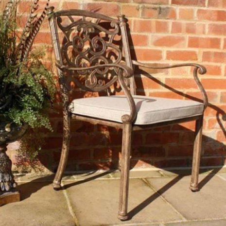 Azur Aluminium Dining Chair KH_ALUIVYK21