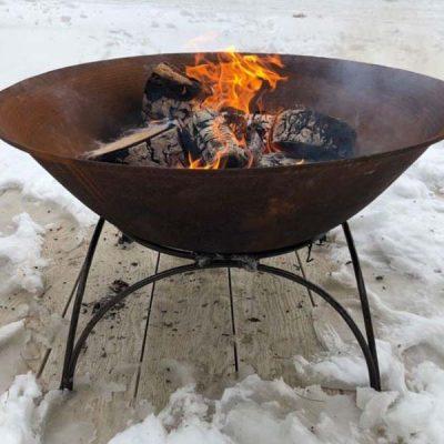 Etna Cast Iron Fire Pit 80cm