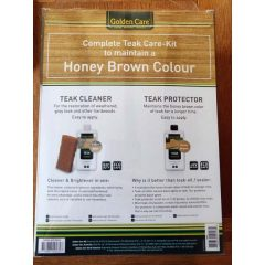 Golden Care 3 in 1 Teak Maintenance Kit Blurb KH_GOLD02