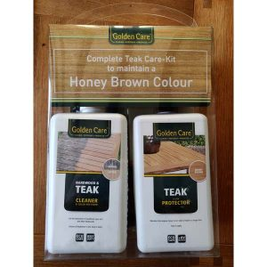 Golden Care 3 in 1 Teak Maintenance Kit KH_GOLD02