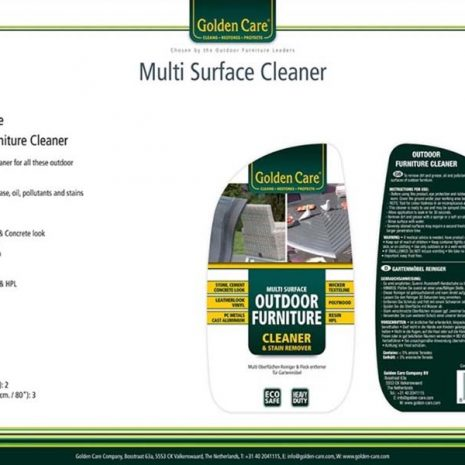 Golden Care Outdoor Furniture Cleaner & Stain remover