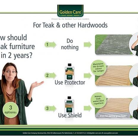 Golden Care Teak Cleaning & Protection