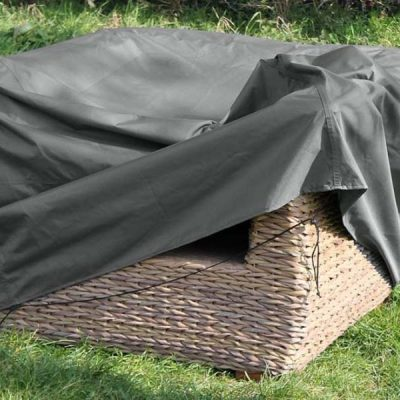 Heavy Duty Waterproof Armchair Cover - Ideal for Bude and Poole - Grey