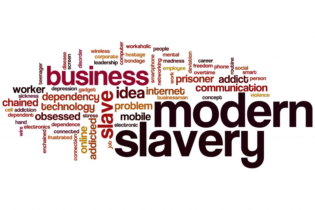 Modern Slavery Act 2015 Transparency Statement - Modern Slavery Act 2015 Word Cloud