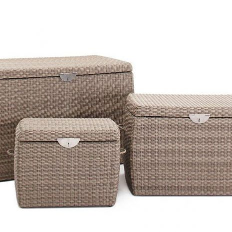 Sandbanks AquaMax Rattan Garden Storage Box Set