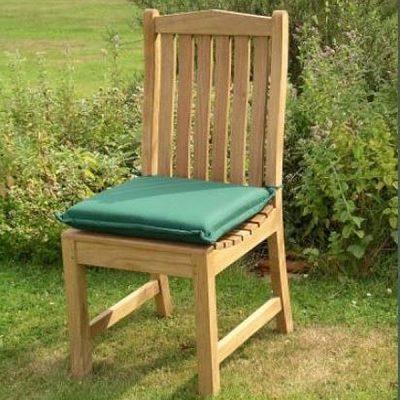Outdoor Single Seat Cushiopn Forest Green