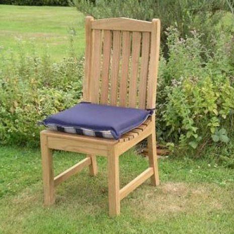 Outdoor Single Seat Cushion Navy Blue