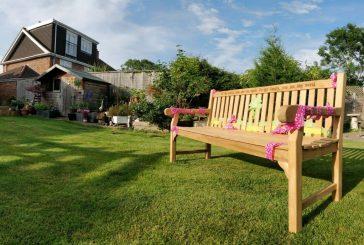 Celebration benches. Wordsworth Solid Teak 180cm 5 Seater Bench Plus Inscription