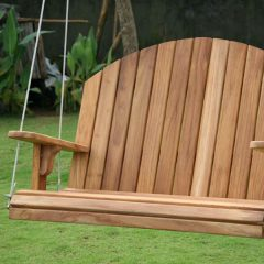 150cm Teak Adirondack Swing Seat