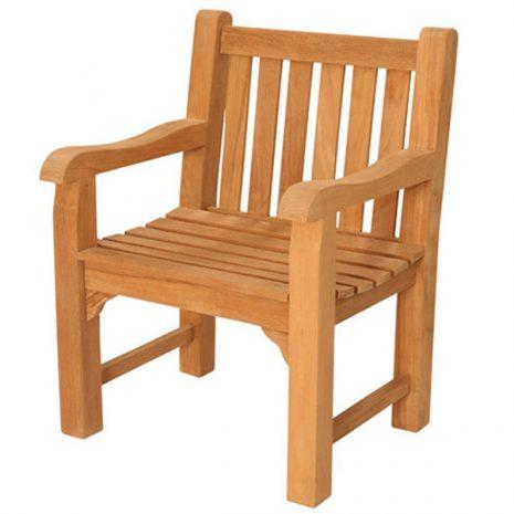 Dunbar Teak Garden Armchair. Outdoor teak chair