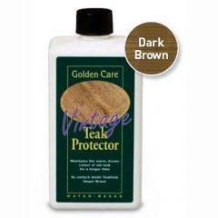 Golden Care Dark Brown Vintage Teak Protector 1 litre