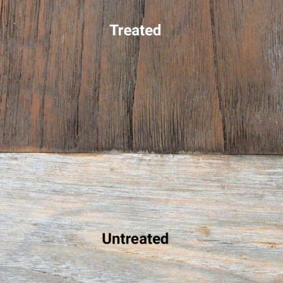 Golden Care Dark Brown Vintage Teak Protector Treated Untreated