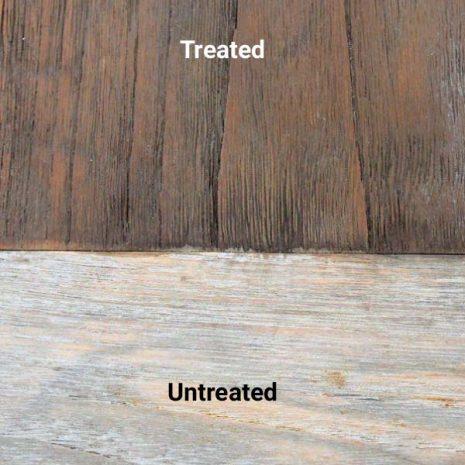 Golden Care Dark Brown Vintage Teak Protector Treated Untreated