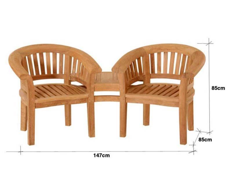 Wondrous Half Moon Curved Garden Companion Seat Love Seat Cjindustries Chair Design For Home Cjindustriesco